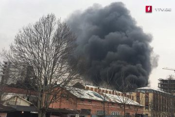 ყოფილ კიროვის ქარხნის შენობაში ცეცხლი ლოკალიზებულია