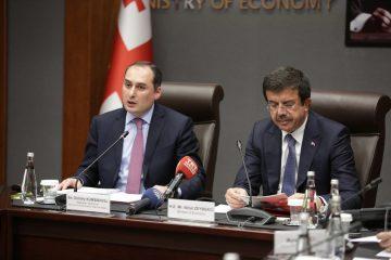 """ქუმსიშვილი: """"თურქეთთან მოლაპარაკებების შედეგად, ქართულ ბიზნესს ექსპორტის 20%-ით გაზრდის შესაძლებლობა მიეცემა"""""""