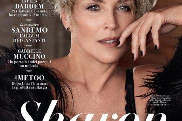 შერონ სტოუნის Vanity Fair-ის ახალი ძალიან სექსუალური ფოტოსესია