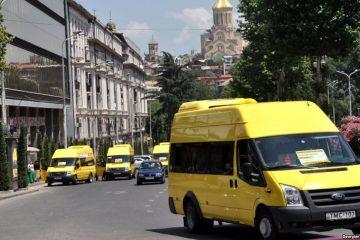 თბილისის 14 ქუჩაზე მიკროავტობუსები მხოლოდ საზოგადოებრივი ტრანსპორტის მოსაცდელებთან გაჩერდებიან