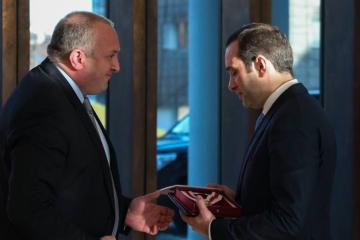 პრეზიდენტმა მამია ალასანიას ეროვნული გმირის წოდება მიანიჭა
