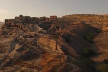ვირტუალური რეალობის წარმოსახვითი სტენდი უფლისციხის მუზეუმ-ნაკრძალზე (ვიდეო)