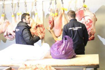 თბილისში ვადაგასული, საეჭვო წარმომავლობის 400 კგ ხორცი ამოიღეს