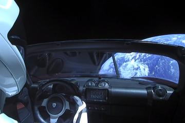 Tesla Roadster-ი მარსისკენ მიემართება