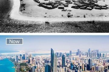 ქალაქების დაუჯერებელი ძველი და ახალი სახე