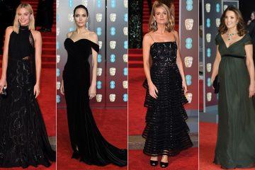 ფოტოები: BAFTA-ს წითელი ხალიჩა შავებში