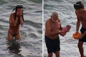 რუსმა ქალმა წითელ ზღვაში იმშობიარა