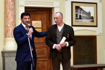 კახა კალაძემ დავით მაღრაძეს იტალიის პრეზიდენტის ჯილდოს მიღება მიულოცა