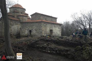 შუამთის მონასტერში არქეოლოგიური სამუშაოები მიმდინარეობს