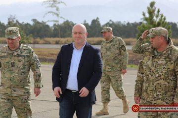 აჭარის რეგიონში არსებულ სამხედრო ნაწილებში დღეს თავდაცვის მინისტრი იმყოფებოდა