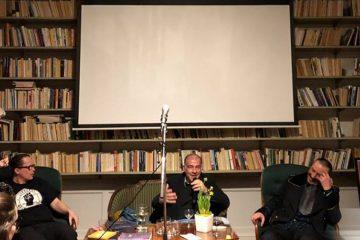 შვედეთის მწერალთა სახლში საქართველოს დამოუკიდებელი რესპუბლიკის 100 წლისთავის იუბილისადმი მიძღვნილი ლიტერატურული საღამო გაიმართა