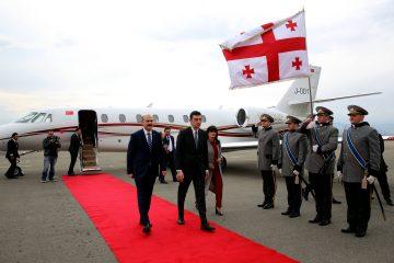 გიორგი გახარია თურქეთის რესპუბლიკის შინაგან საქმეთა მინისტრს შეხვდა