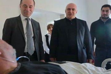 ტურიზმის ეროვნული ადმინისტრაციის ხელმძღვანელმა და ჯანდაცვის მინისტრის მოადგილემ გუდაურში დაშავებულები მოინახულეს