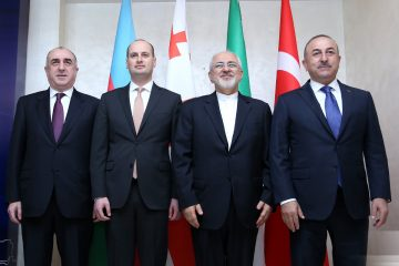 ბაქოში აზერბაიჯანი, საქართველო, ირანისა და თურქეთის საგარეო საქმეთა მინისტრების ერთობლივი შეხვედრა გაიმართა