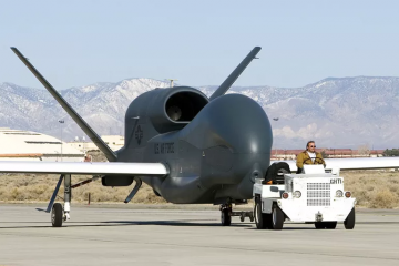 აშშ-ს Global Hawk-მა ყირიმის სანაპირო დაზვერა