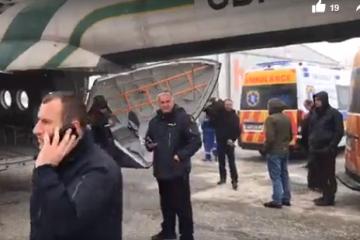 სასაზღვრო პოლიციის ვერტმფრენი გუდაურიდან დაშავებულებს თბილისში გადმოიყვანს
