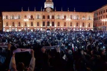 """""""მშვიდობა ომზე მეტია!""""-  არჩილ ტატუნაშვილისადმი სოლიდარობისა და რუსული ოკუპაციის წინააღმდეგ აქცია გაიმართა"""
