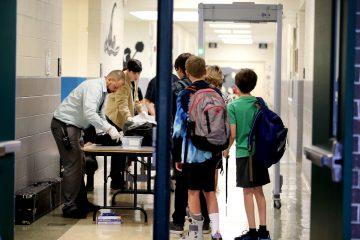სკოლის მოსწავლეების მეტალოდეტექტორით შემოწმება იგეგმება
