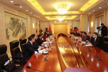 ჩინეთი საქართველოს მიმართულებით სარკინიგზო კონტეინერების მოსაზიდად ფინანსურ დახმარების გაწევის შესაძლებლობას განიხილავს