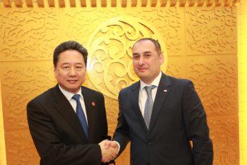 """ჩინეთის ტრანსპორტის მინისტრი: ჩინეთი საქართველოს ე.წ. """"შუა დერეფნის"""" განვითარებაში დაეხმარება"""
