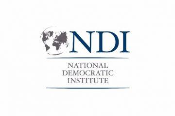 NDI მედიას საზოგადოებრივი აზრის უახლესი კვლევის შედეგებს წარუდგენს
