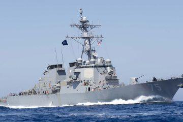 რუსულმა სამხედრო თვითმფრინავებმა ამერიკულ USS Donald Cook-ს გადაუფრინეს