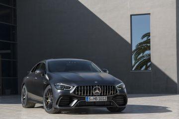 2019 წლის Mercedes-AMG GT 4 კარიანი კუპე