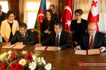საქართველოს, თურქეთსა და აზერბაიჯანს შორის თავდაცვის სფეროში სტრატეგიული თანამშრომლობა კიდევ უფრო ღრმავდება