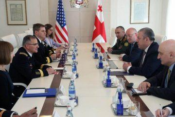 EUCOM-ი მზადაა, საქართველოს შეიარაღებული ძალების ნატო-სთან თავსებადობას მომავალშიც აქტიურად შეუწყოს ხელი