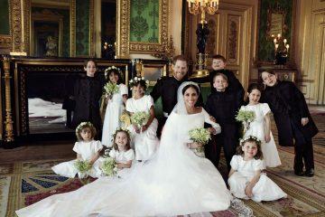 სამეფო ოჯახმა ქორწილის ოფიციალური ფოტოები გამოაქვეყნა