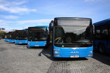 მერიის ტენდერი 100 ახალი ავტობუსის შემოყვანაზე უშედეგოდ დასრულდა