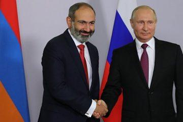 ფაშინიანი: რუსეთსა და სომხეთს შორის სტრატეგიული პარტნიორობა გადახედვას არ ექვემდებარება