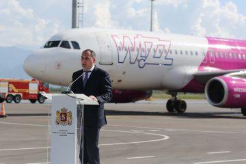 """დიმიტრი ქუმსიშვილი: """"Wizz air-ის მიერ საქართველოში განხორციელებული ინვესტიციები უკვე 200 მლნ დოლარს აღწევს"""""""
