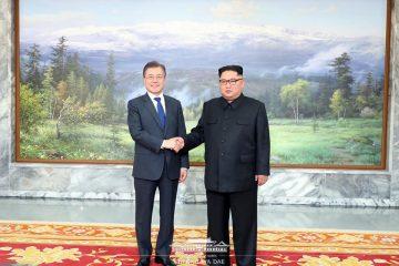 სამხრეთ კორეის პრეზიდენტმა და ჩრდილოეთ კორეის ლიდერმა შეხვედრა გამართეს