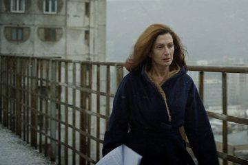 """ესტონეთის კინოს მუზეუმში ანა ურუშაძის ახალი ქართულ-ესტონური ფილმის """"საშიში დედა""""-ს პრემიერა გაიმართა"""