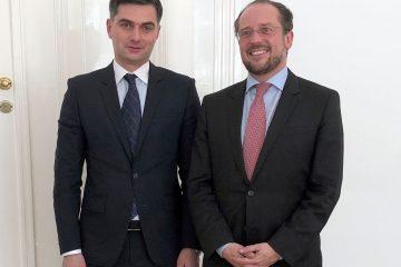 ავსტრიული მხარე გამოთქვამს მზადყოფნას ხელი შეუწყოს საქართველოს ევროკავშირთან მეტი ინტეგრაციისკენ მიმართულ ძალისხმევას