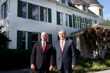 გიორგი კვირიკაშვილს აშშ-ის ვიცეპრეზიდენტმა მაიკ პენსმა ვაშინგტონში, საკუთარ რეზიდენციაში უმასპინძლა