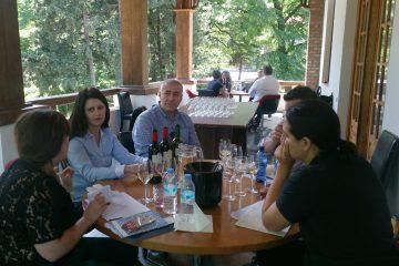 საქართველოს ამერიკელი ღვინის იმპორტიორების ჯგუფი ეწვია