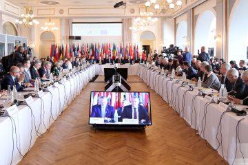 მიხეილ ჯანელიძე ევროპის საბჭოს 128-ე მინისტერიალში მონაწილეობს