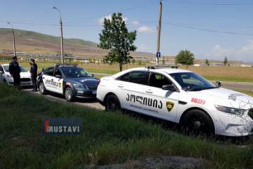 რუსთავში პოლიციამ პოლიცია დააჯარიმა