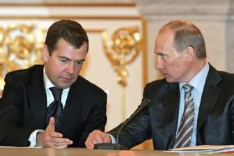 ვლადიმერ პუტინმა რუსეთის პრემიერ-მინისტრის პოსტზე კვლავ დიმიტრი მედვედევი წარადგინა