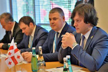 ირაკლი კობახიძე აზერბაიჯანის რესპუბლიკის მილი მეჯლისის თავმჯდომარეს შეხვდა