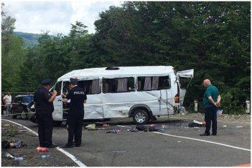 ავარიის დროს დაშავებული ბავშვი: მძღოლი ამუხრუჭებდა, მაგრამ მანქანა არ ჩერდებოდა