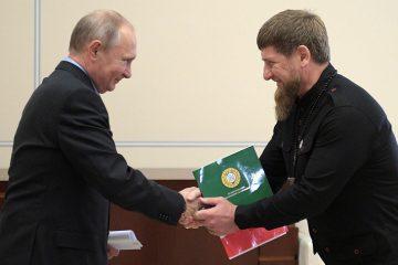 tass.ru: ვლადიმერ პუტინმა რამზან კადიროვთან ჩეჩნეთის განვითარების საკითხები განიხილა