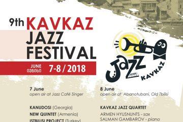 Kavkaz Jazz ფესტივალი იწყება