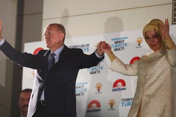 თურქეთის რიგგარეშე საპრეზიდენტო არჩევნებზე რეჯეფ თაიფ ერდოღანმა გაიმარჯვა