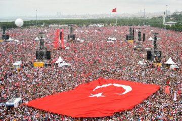 თურქეთში რიგგარეშე საპარლამენტო და საპრეზიდენტო არჩევნები მიმდინარეობს