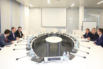 """დიმიტრი ქუმსიშვილი გაერთიანებული ენერგეტიკული """"ფედერალური ქსელის კომპანიის"""" მმართველობის თავმჯდომარეს შეხვდა"""