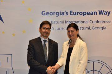 """სოფიო ქაცარავა: """"საქართველოს საკითხებს, როგორც ევროპული სტანდარტის ქვეყანას, აქტიურად განვიხილავთ ჩვენს პარტნიორებთან ერთად"""""""