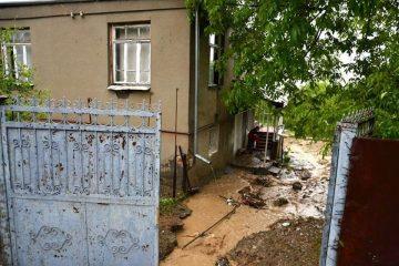 ძლიერმა წვიმამ სიღნაღის მუნიციპალიტეტში რამდენიმე სოფელი დააზარალა